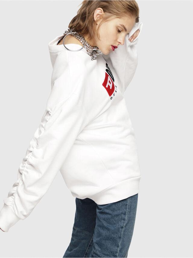 Diesel - F-ARAP, White - Sweaters - Image 3