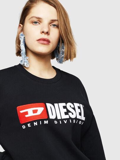 Diesel - F-GIR-DIVISION-FL, Black - Sweaters - Image 3