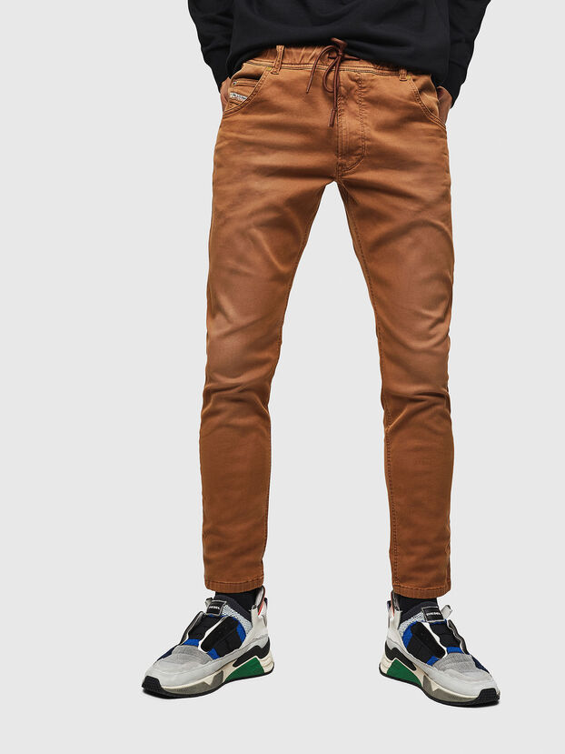 Krooley JoggJeans 0670M, Brown - Jeans