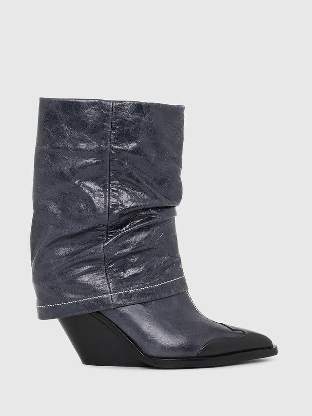 Diesel - D-WEST MB, Blue - Ankle Boots - Image 1