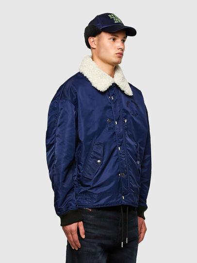 Diesel - J-LEANDER, Blue - Winter Jackets - Image 4