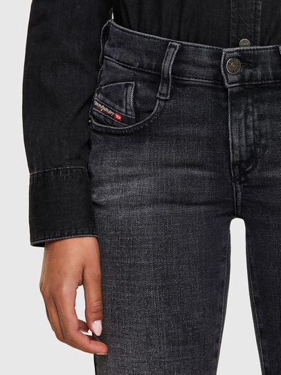 Diesel - D-Ebbey 009PW, Black/Dark grey - Jeans - Image 3