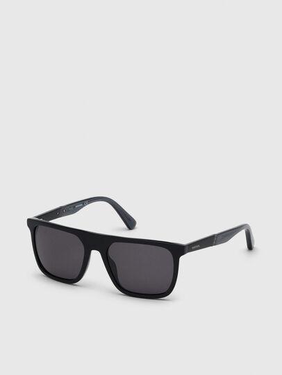 Diesel - DL0299, Black/Grey - Sunglasses - Image 2