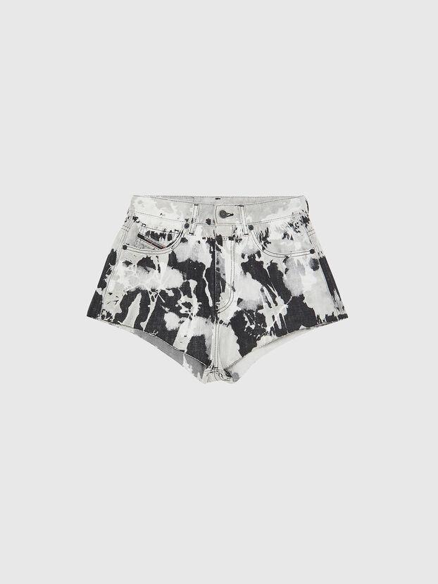 DE-HIGWEI, Black/White - Shorts