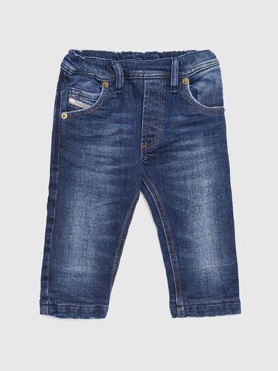 Diesel - KROOLEY-B-N F JOGGJEANS, Medium blue - Jeans - Image 1