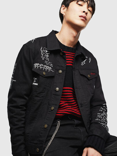 Diesel - CL-NHILL-T,  - Denim Jackets - Image 3