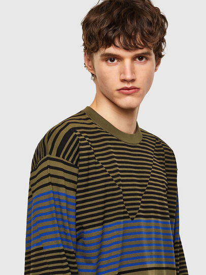 Diesel - K-BALTIC, Blue/Green - Knitwear - Image 3