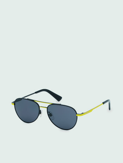 Diesel - DL0291, Black/Yellow - Kid Eyewear - Image 2