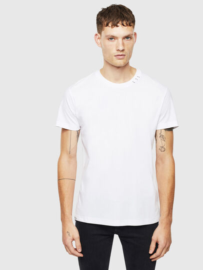 Diesel - T-GROSSI, White - T-Shirts - Image 1