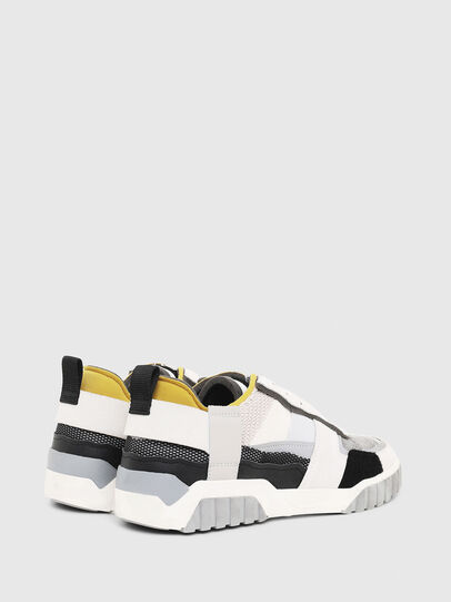 Diesel - S-RUA LOW DEC, White - Sneakers - Image 3