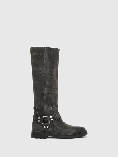 Diesel - D-THROUPER MB W, Black - Boots - Image 1
