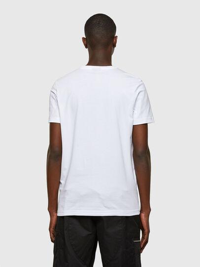 Diesel - T-DIEGOS-SMALLOGO, White - T-Shirts - Image 2