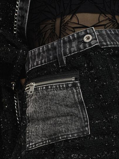 Diesel - O-NYELA, Black - Skirts - Image 5