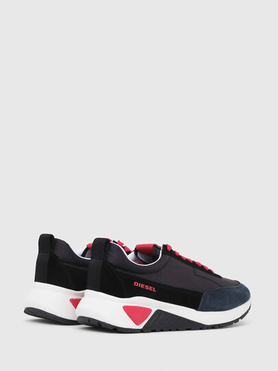 Diesel - S-KB LOW LACE, Black/Red - Sneakers - Image 3