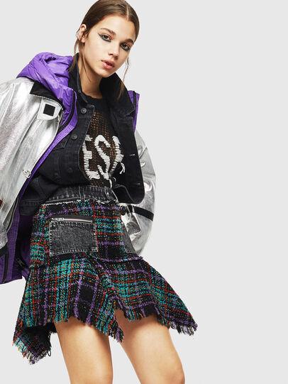 Diesel - O-BRYEL, Multicolor - Skirts - Image 4