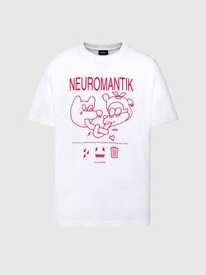 T-TUBOLAR-N1, White - T-Shirts