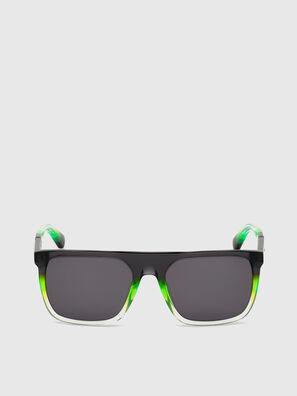 DL0299, Black/Green - Sunglasses