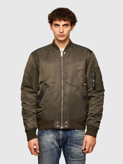 Diesel - J-ROSS-REV, Brown - Jackets - Image 1