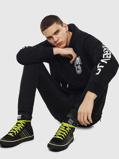 Diesel - S-ASTICO MC H, Black/Yellow - Sneakers - Image 6