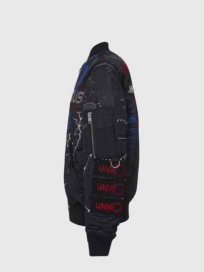 Diesel - J-DWIGHT, Black - Jackets - Image 3