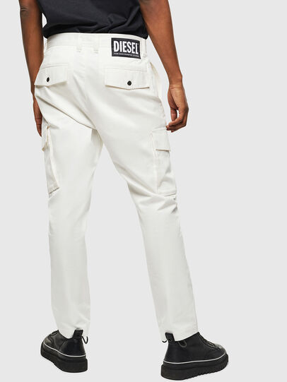 Diesel - P-JARED-CARGO, White - Pants - Image 2