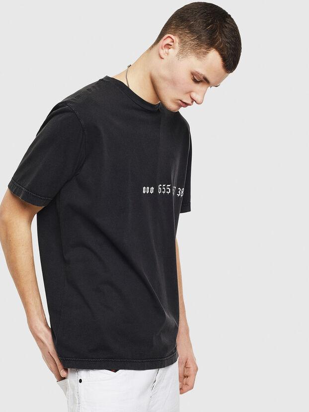 T-JUST-T12, Black - T-Shirts
