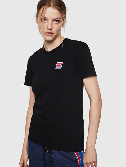 Diesel - T-SILY-ZE, Black - T-Shirts - Image 1