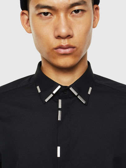 Diesel - S-MARLENE, Black - Shirts - Image 3