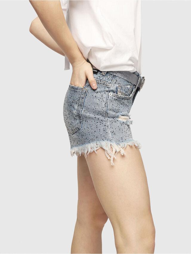 Diesel - DE-RIFTY-S, Blue Jeans - Shorts - Image 5