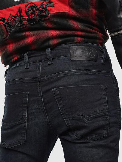 Diesel - Krooley JoggJeans 069KJ, Black/Dark grey - Jeans - Image 4