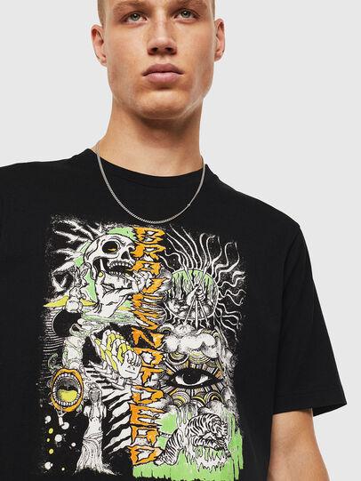 Diesel - T-JUST-J13, Black - T-Shirts - Image 4