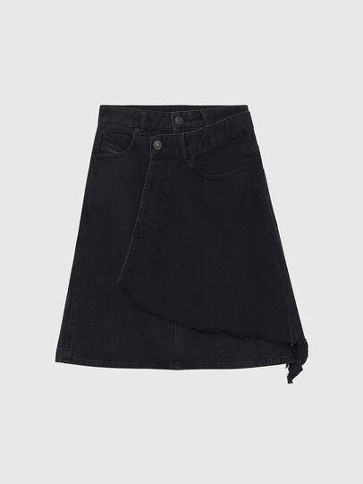 Diesel - DE-TOBY, Black - Skirts - Image 1