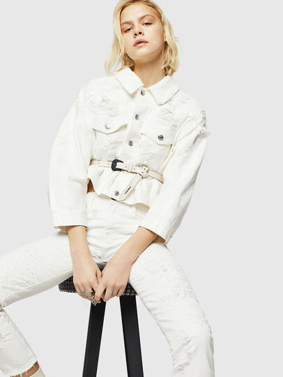 Diesel - D-Rifty 069GY, White - Jeans - Image 4