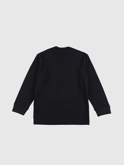 Diesel - TEDRI OVER, Black/Red - T-shirts and Tops - Image 2