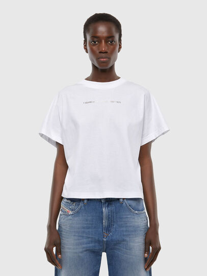 Diesel - T-SLOWLY, White - T-Shirts - Image 1