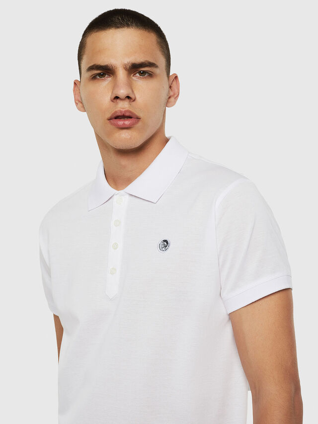Diesel - T-WEET, White - Polos - Image 4