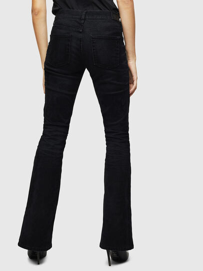 Diesel - D-Ebbey 0091I, Black/Dark grey - Jeans - Image 2