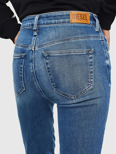 Diesel - Slandy High 009AG, Medium blue - Jeans - Image 5