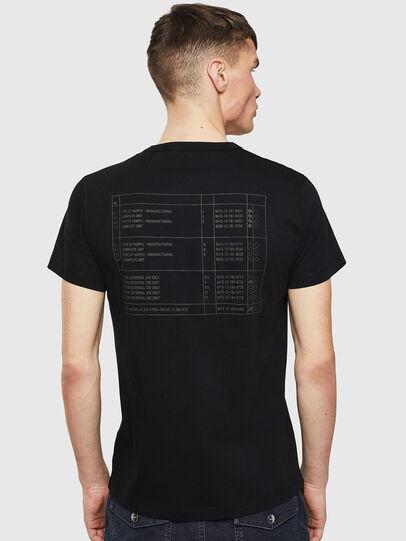 Diesel - T-DIEGO-S5, Black - T-Shirts - Image 2