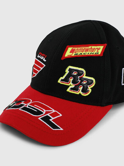 Diesel - ASTARS-CAP, Black/Red - Caps - Image 3
