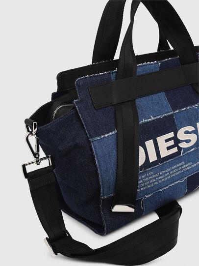 Diesel - F-CAORLY SATCHEL M, Blue - Satchels and Handbags - Image 5