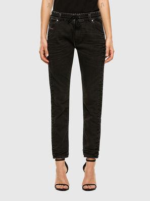 Krailey JoggJeans 009FY, Black/Dark grey - Jeans
