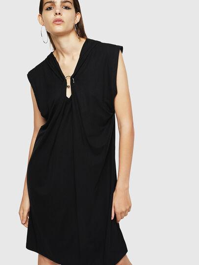 Diesel - D-SULE, Black - Dresses - Image 1