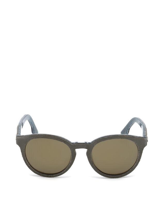Diesel - DM0199, Green - Sunglasses - Image 1
