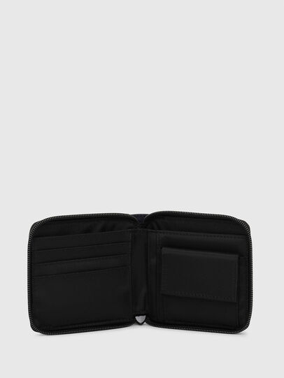 Diesel - ZIPPY HIRESH S, Dark Blue - Zip-Round Wallets - Image 3