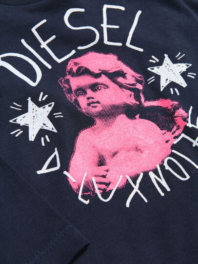 Diesel - TAIZAB, Dark Blue - T-shirts and Tops - Image 3