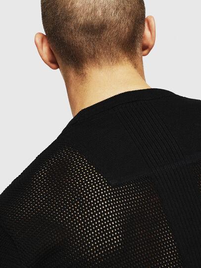 Diesel - K-LORE, Black - Knitwear - Image 3