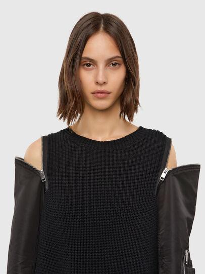 Diesel - M-CLARE, Black - Knitwear - Image 3
