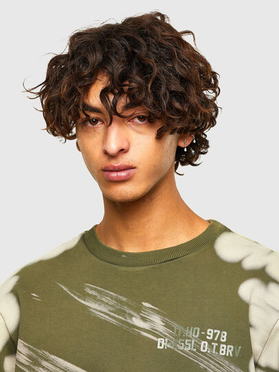 Diesel - S-GIRK-A62, Military Green - Sweaters - Image 3