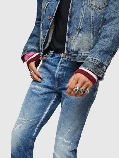 Diesel - Mharky 0078B, Light Blue - Jeans - Image 4